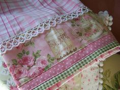 Romantic Chic dish towel for Shabby Chic home. by Decorative Towels - Created by Cath. via Flickr