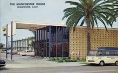 Manchester House Motel, Inglewood, California