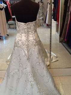 Jasmine T244: buy this dress for a fraction of the salon price on PreOwnedWeddingDresses.com