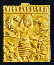 Bee Goddess at Eryx • Click for best honeybee mythology listing. As a beekeeper and honeybee fan, I relate to ancient people's love and worship of the honeybee. I can see how they saw divinity in those little incandescent sun creatures. :)
