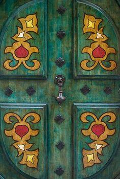 Painted Door. France. Olivier Galibert