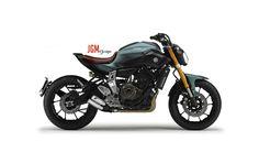 Yamaha MT07 cafe racer vision #JGMdesign