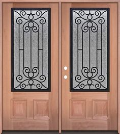 We Offer A Wide Range Of Exterior Door Styles With A Variety Of Iron Grille  Designs, All At Discounted Prices In Houston ...