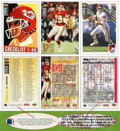 Joe Montana 1994 Collector's Choice Spanish (3 Cards)