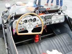 Burton racer cockpit