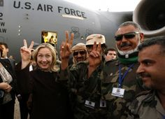 While Clinton's demented reaction to Ghaddafi's death was revealing, her actual contribution to it was not only immoral and illegal, it was treasonous. Remember, it was Hillary Clinton, along with her State Department staff such as Susan Rice and...
