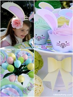 Bird's Party Blog: Kid's Easter Egg Hunt Party + our NEW Easter Printable Collection