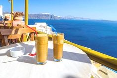 Experts say is the least productive day of the week.How do you increase your productivity? To give ourselves a boost we'll do the most quintessentially thing we can think of enjoy a frappe and a million dollar of the caldera and then get to . Coffee Art, Coffee Time, Productive Day, Greek Islands, Barista, Productivity, Blog, Wellness, Canning