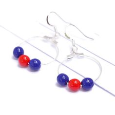 Hockey earrings add team spirit to your game day (or every day) wardrobe.  Get yours today!