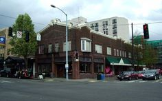 The brick building at 4554 California Ave. was built in property records show. (Department of Assessments) Seattle Neighborhoods, West Seattle, Bikram Yoga, Brick Building, Property Records, Old West, Washington State, The Neighbourhood, Street View