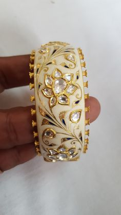 Fulfill a Wedding Tradition with Estate Bridal Jewelry Bridal Bangles, Bridal Jewelry, Gold Jewelry, Jewelery, Gold Bangles, Jewellery Sketches, Jewelry Patterns, Indian Jewelry, Fashion Jewelry