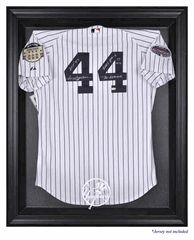 New York Yankees Black Framed Logo Jersey Display Case