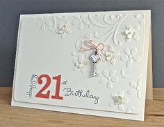 Stampin Up Ideas And Supplies From Vicky At Crafting Clares Paper Moments 50th Birthday Cards