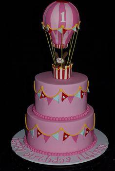 Hot Air Balloon Cake | Flickr - Photo Sharing!