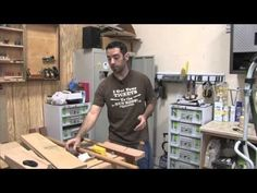 184 - Coves on the Tablesaw & the Parallelogram Cove Jig - The Wood Whisperer