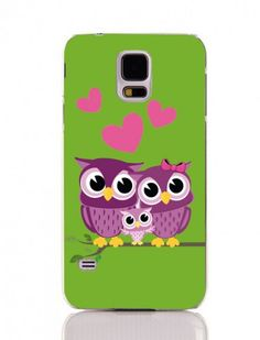 Coconut Samsung Galaxy S5 Family Owls-Eulen Hülle
