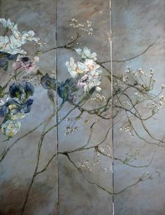 Poppytalk - The beautiful, the decayed and the handmade: Inspiration: Florals Art Floral, Holidays And Events, Flower Art, Claire, Contemporary Art, Illustration Art, Bloom, Inspiration, Wall Art