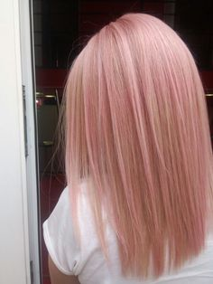 pink pastel hair 061 - 85 Pastel Pink Hair Ideas There is Blond Rose, Rose Gold Hair Blonde, Cabelo Rose Gold, Pastel Pink Hair, Baby Pink Hair, Dyed Hair Pink, Rose Pink Hair, Pastel Blonde, Light Pink Hair