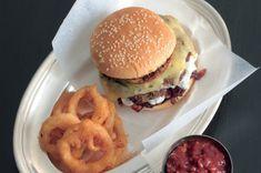 Luxusní cheeseburger