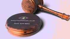 Gavel logo reveal - perfect for law professionals!