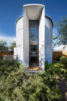 Light Tricks - How One Couple Turned A Grain Silo Into A Home - Photos