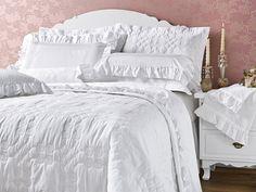 """Coleção Windsor Percal 600 Fios 100% Algodão. Dê um """"toque"""" de sofisticação para seu quarto."""