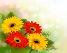 http://freedesignfile.com/94216-vector-set-of-spring-flowers-design-graphics-04/