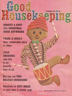 GOOD HOUSEKEEPING Magazine Christmas Issue, December 1966