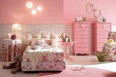 Dormitorios Color Rosa Para Niñas   Ideas para decorar, diseñar y mejorar tu casa.