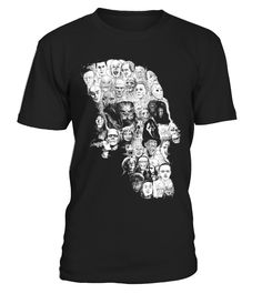 HORROR SKULL T-SHIRT  Funny Peace for Paris T-shirt, Best Peace for Paris T-shirt