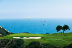 Beautiful view of the Torrey Pines Golf Course next to the Hilton La Jolla Torrey Pines