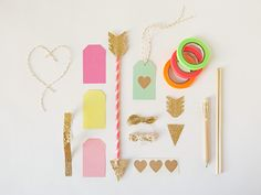 Play cupid with this super fab DIY Love Arrow Kit