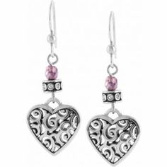 Broghton Reno Heart Leverback Earrings Earrings