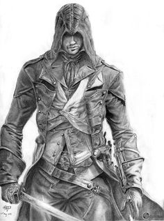 40-hour Assassin's Creed: Unity sketch