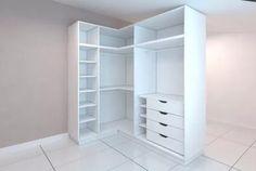18 New Ideas For Closet De Madera Esquinados Corner Closet, Corner Wardrobe, Wardrobe Design Bedroom, Bedroom Wardrobe, Wardrobe Closet, Bedroom Furniture, Bedroom Decor, Ikea Closet, Closet Layout