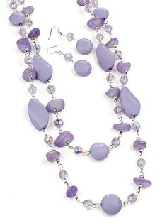 Beads Purple Jewelry