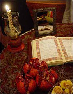 Iran - Yalda - Celebrating Yalda Night