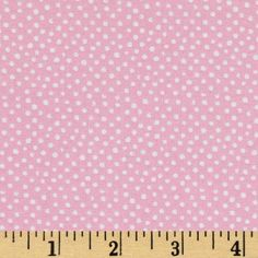 Mini Confetti Dot Blush from @fabricdotcom  From Dear Stella Designs, this polka dot cotton fabric is perfect for quilting, apparel and home decor accents. Colors include white polka dots on a blush pink background.