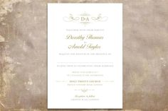 The most beautiful and unique wedding invitations, RSVP cards, and other wedding stationery available in Ireland, the UK and worldwide. Unique Wedding Invitations, Printable Wedding Invitations, Wedding Stationery, Stationery Design, Script, Monogram, Printables, Gray, Classic
