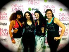 Zumba with Gina and Tanya