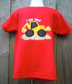 Valentine Applique Shirt for boys by sewmonogramit