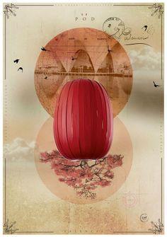 LZF Pod-S  Illustration #LZF #wood #light #design #woodtouchedbylight #Pod