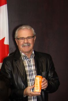 Canadian Agriculture Minister Gerry Ritz supporting the Farmery Estate Brewery!