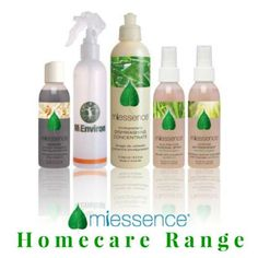 Clean your home without #chemicals with #Miessence #CertifiedOrganic homecare range