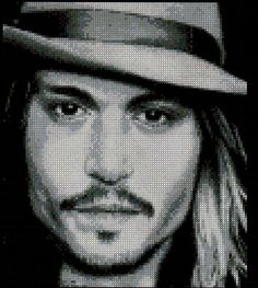 Johnny Depp pattern