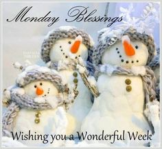 Monday Blessings, Wishing You A Wonderful Week monday monday quotes monday blessings monday pictures monday images monday quotes and sayings
