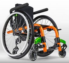 "Looking For A New Wheelchair? This company (Ki Molbility) makes kids chairs and adult chairs. They make folding chairs and rigid manual chairs. Nice selection and cool colors. Dealer locator on the web-site just type-in your zip code.  Good luck if your looking for something different! http://www.kimobility.com/Welcome.action Do Cool Stuff and ""Get In Gear"" with...www.WheelchairGear.com"