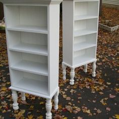 How to make repurposed window cabinets -- step by step directions on how to build the cabinet, put legs on it and use windows for doors.