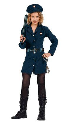 Line of Duty Girl's Costume