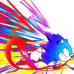 Sonic the Hedgehog Sonic The Hedgehog, Hedgehog Art, The Sonic, Sonic Underground, Classic Sonic, Sonic Mania, Sonic Franchise, Eggman, Sonic Fan Characters